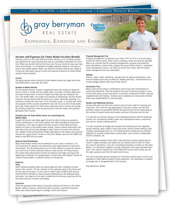 gray berryman outer banks real estate sales corolla duck obx